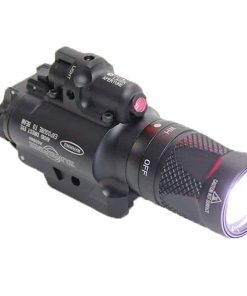 FMA / Target One X400 LED Tactical Flashlight + Red Laser