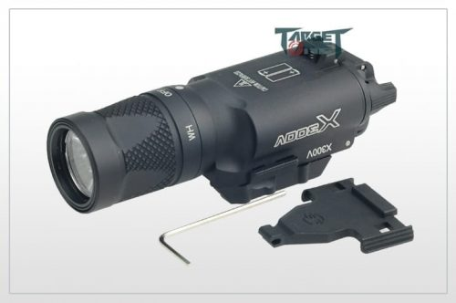 FMA Target one X300V Pistol torch with Strobe