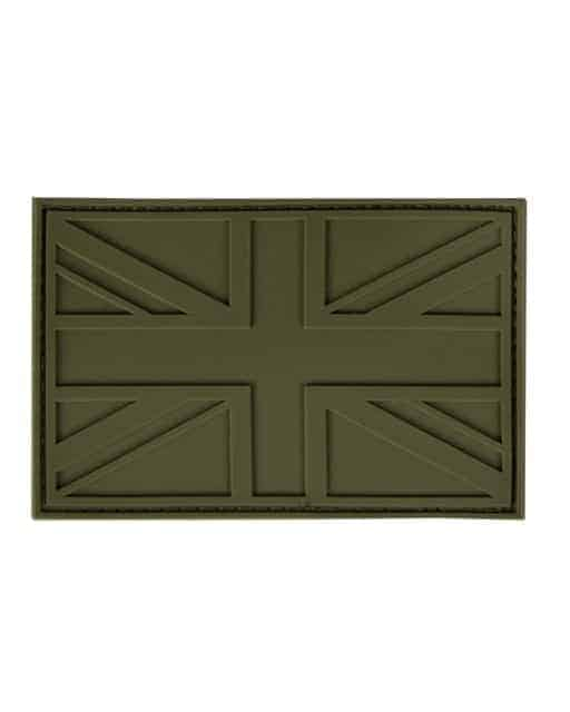 UK PVC Stealth Patch - Olive Green
