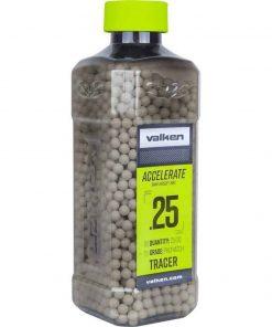 Valken 0.25g Tracer BBs 2500 bottle