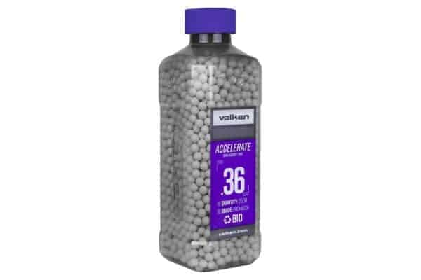 Valken Accelerate Biodegradable 0.36g x 2500 BB Bottle