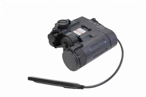 Wadsn DBAL D2 Flashlight  Black1 Wadsn DBAL-D2 Flashlight With Red And Green Laser - Black
