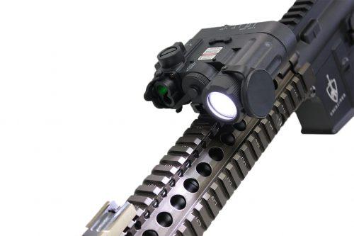 Wadsn DBAL D2 Flashlight  Black3 Wadsn DBAL-D2 Flashlight With Red And Green Laser - Black