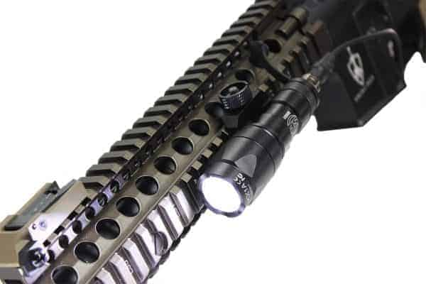 Wadsn M300A Flashlight With Dual Function Switch - Black