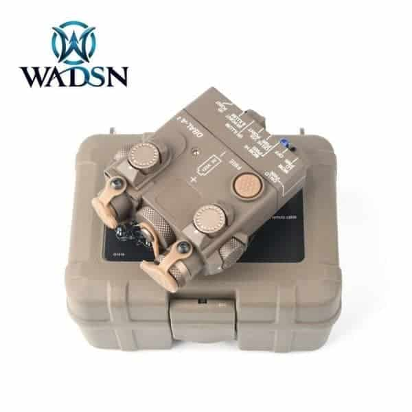 Wadsn DBAL-A2 Aiming Devices Red&IR Laser - Dark Earth