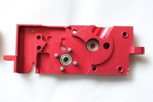 ZCI CNC PTW / DTW / CTW Gearbox Shell (empty) Aviation Grade Alu