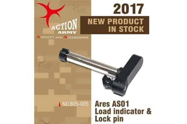 Action Army Ares Striker CNC loading indicator pin AS01