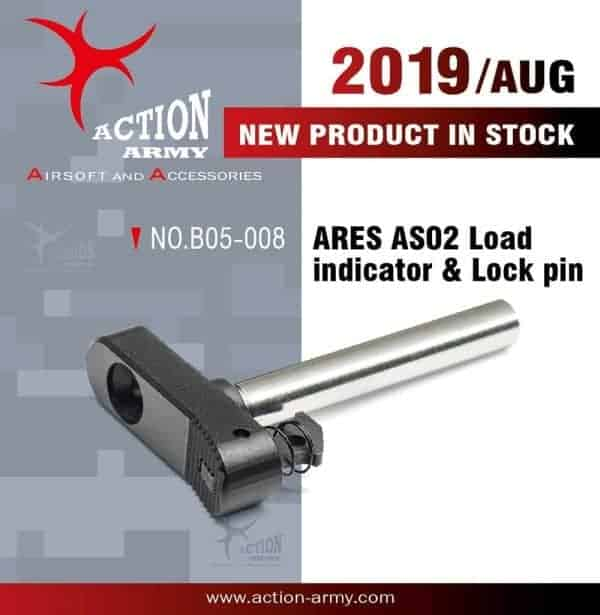 Action Army Ares Striker AS02 CNC Loading Indicator And Locking