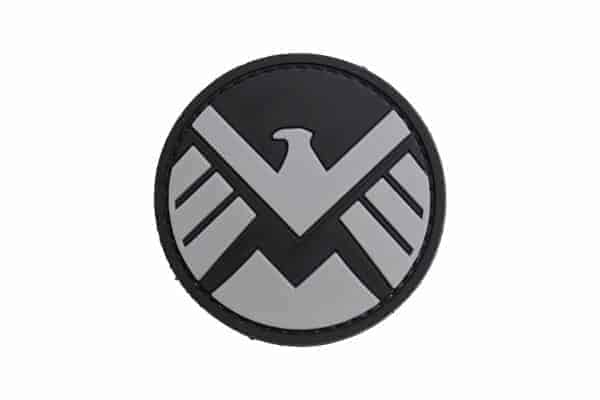 Marvel Shield (Black) Morale patch