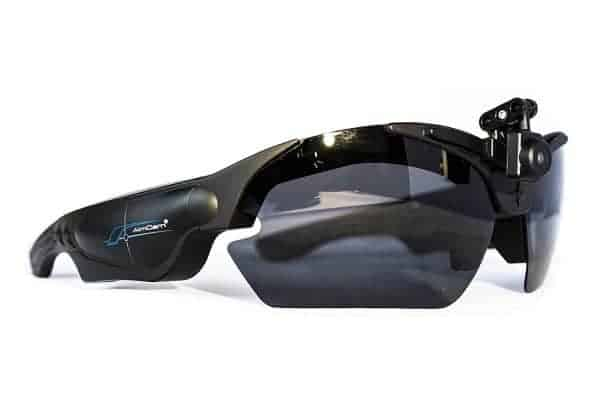AimCam Line Of Sight Sports Action Camera Glasses