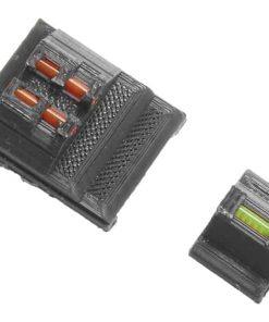 Alpha Zero MK23 Fiber optic sights - Orange/Green