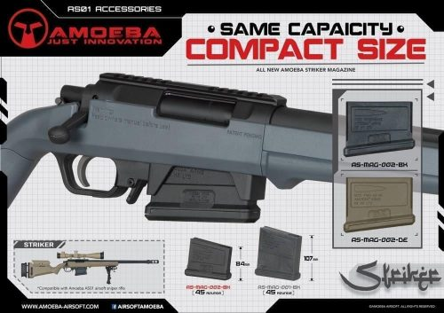 Ares Amoeba Striker -Compact magazine 45rd