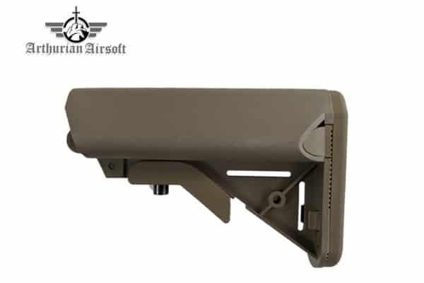 Arthurian Airsoft Excalibur Crane stock - Sandstone