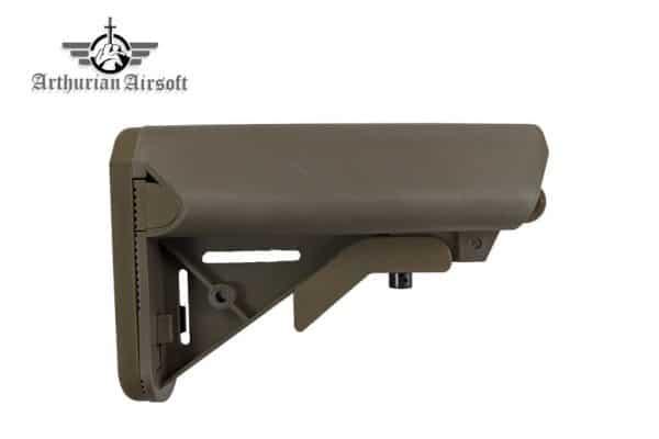 arthurian airsoft crane stock sandstone Arthurian Airsoft Excalibur Crane stock - Sandstone