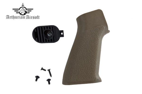 Arthurian Airsoft Excalibur Mordred pistol grip - Sandstone