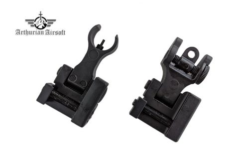 Arthurian Airsoft Excalibur Apex iron sights