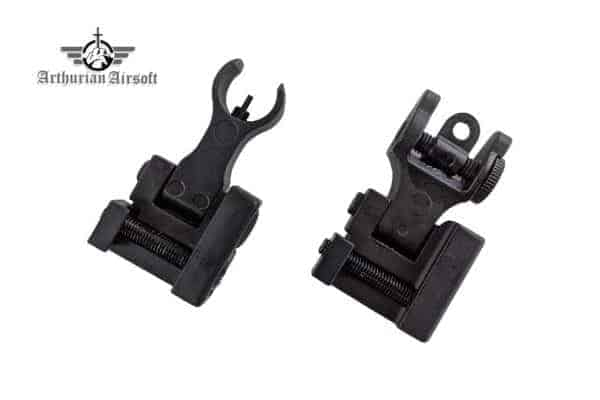 arthurian airsoft mordred sight set 2 Arthurian Airsoft Excalibur Apex iron sights