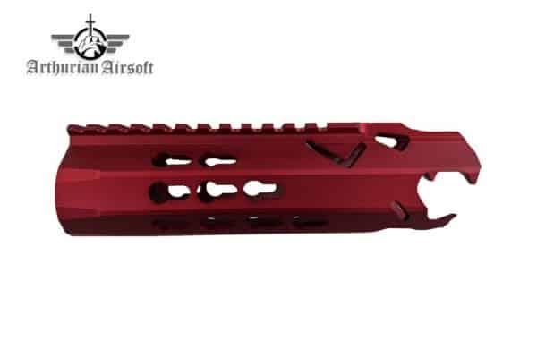 Arthurian Airsoft Excalibur Offspring rail system - Crimson