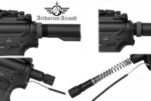 arthurian excalibur quick change H scaled Arthurian Airsoft Excalibur Recon M4 AEG