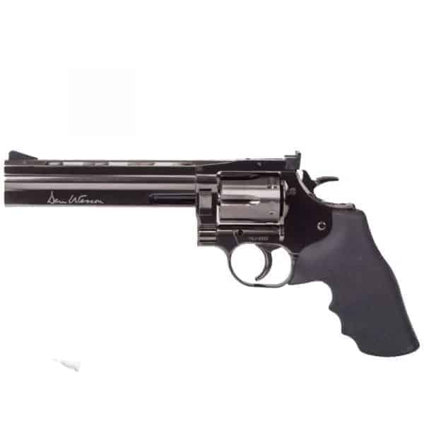 "ASG Dan Wesson 715 - 6"" Revolver, Steel grey Low Power"