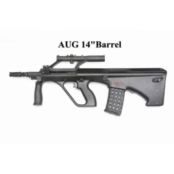 GHK AUG 14 inch barrel kit AUG-K-4