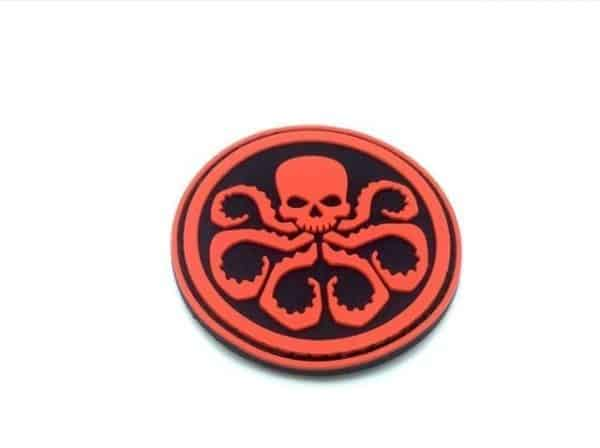 Avengers Hydra marvel patch (Red)