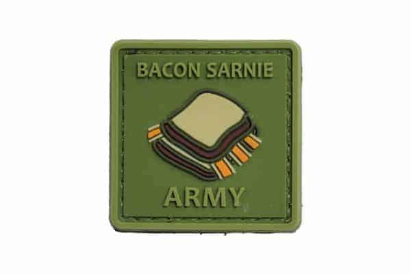Bacon Sarnie Army (Green) Morale Patch