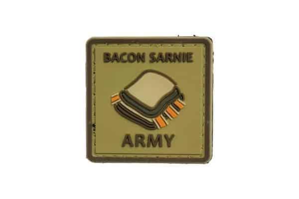 Bacon Sarnie Army (Tan) Morale Patch