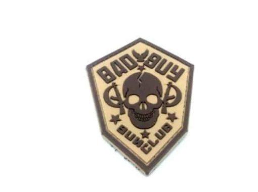 Bad Guy Gun Club patch (Tan)