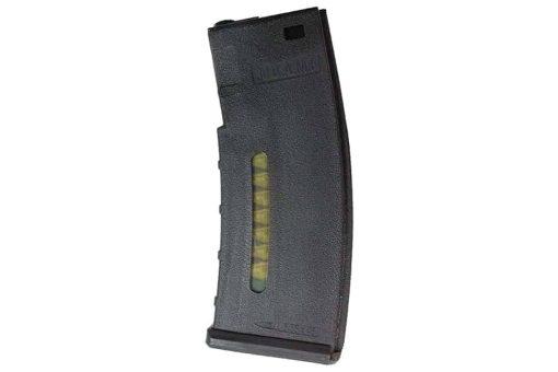BAMF 190 Rounds Polymer Mid-Cap Magazine For M4 M16 Black