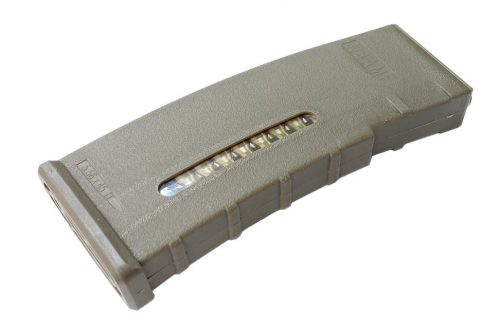 BAMF 190 Rounds Polymer Mid-Cap Magazine For M4 M16 Tan