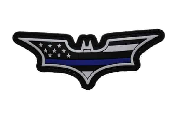 Batman Stars and Stripes (Black / Blue ) Morale Patch