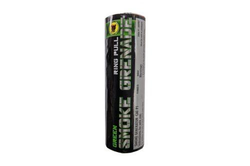 Black Cat Ring pull smoke grenade (Green)