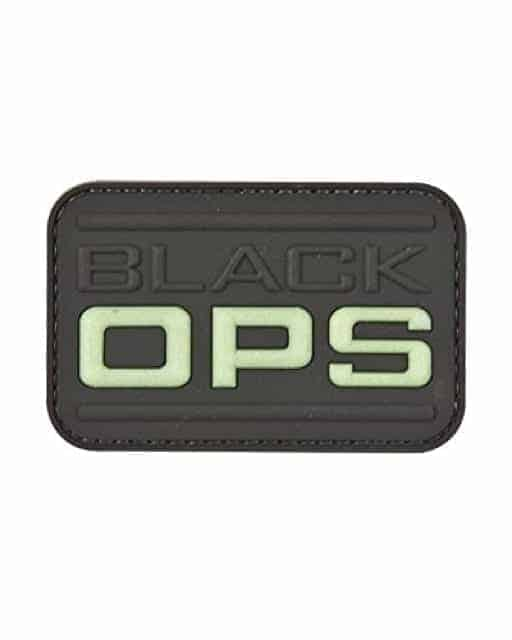 Black Ops morale patch (Black)