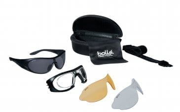 Bolle Raider Glasses set w/3 lenses