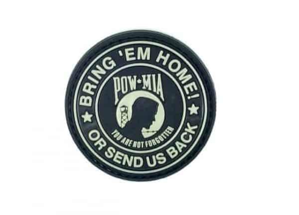 Bring 'em home, or send us back patch (Black)