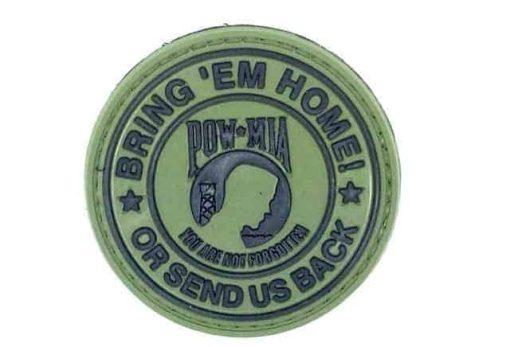 Bring 'em home, or send us back patch (Green)