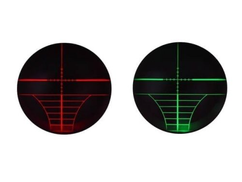 bushnell 3 9x40 red green illuminated scope 2 3-9x40 40mm Red/Green Illuminated Crosshair Rifle Scope