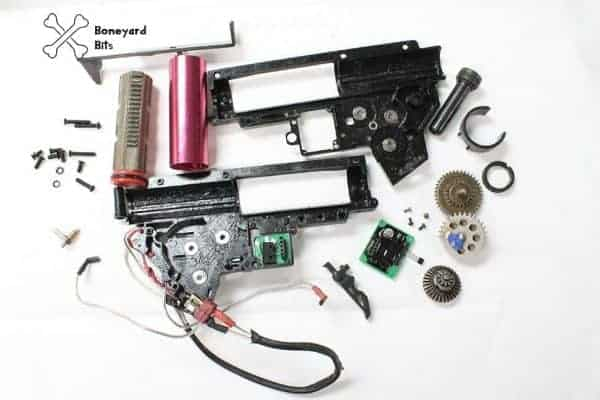 by amoeba gearbox bits Boneyard Ares Amoeba gearbox (in bits) - B