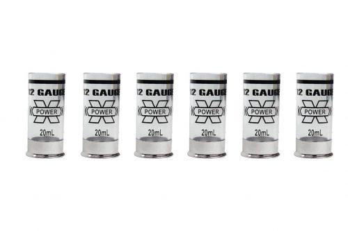 Castellan Shotgun Shot Glasses Clear x 6