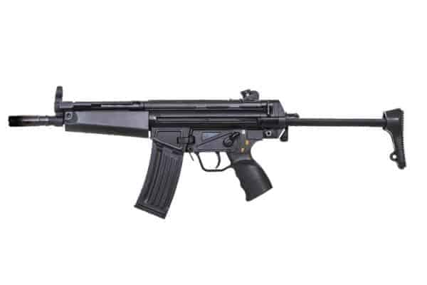 Classic Army CA53 AEG with retractable stock - Full Metal