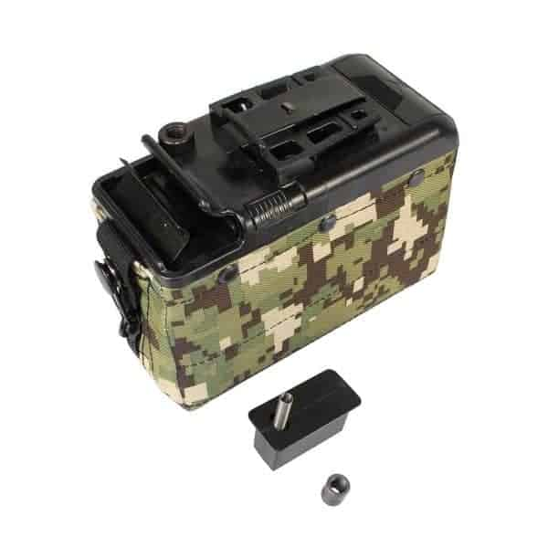 classic army m249 magazine Classic Army Box Mag For M249 AOR2 (P252P-K) Zoom Box Mag Fo