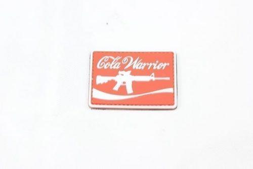 Cola Warrior velcro morale patch