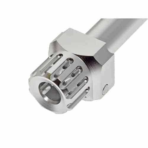 Cow Cow TM Glock Fast Lock Compensator & Barrel Set - Silver