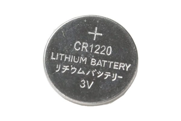 CR1220 cell battery