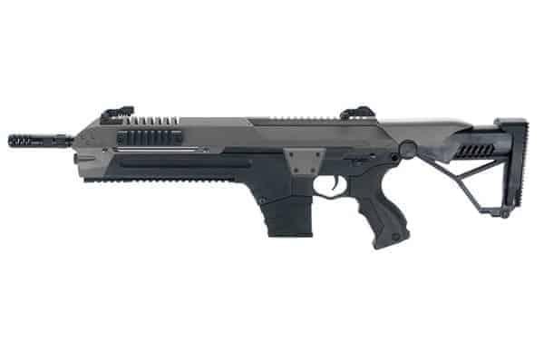 CSI STAR x-r5 airsoft advanced battle rifle - combat grey