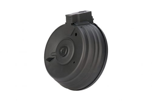 CYMA 2800 Round Sound Control Electric Drum Magazine for AK AEG (C.38)