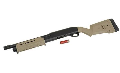 Cyma Tactical m870 operator shotgun - Tan