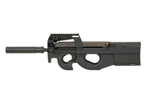 Cyma CM060 P90 AEG with mock suppressor