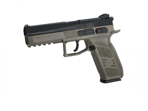 ASG CZ P-09 incl. case. Flat Dark Earth